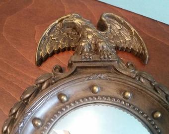 Convex Eagle Mirror - Homco 1945