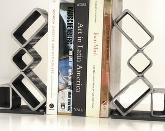 Raw Steel Bookends