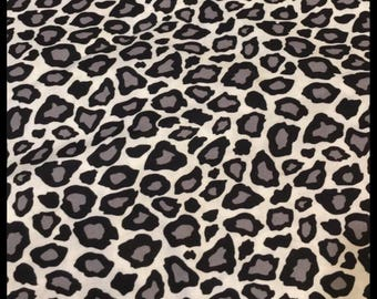Custom cheetah snow leopard black & white and you choose minky color Canopy set you choose items canopy, seat cover,strapcovers headsupport