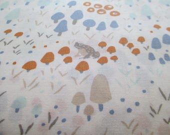 Quilting Weight Cotton Fabric Woodland Gathering by Betsy Olm for Clothworks 1 yard