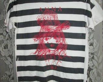 Rare ANNA SUI Striped T-shirt Original