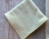 Hemp Face Cloth - Wash Cloth - Organic French Terry Towelling - Washable - Eco