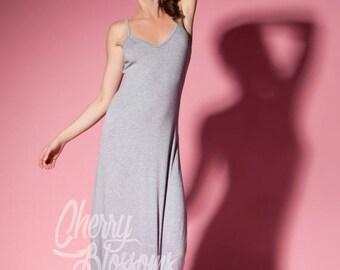 SALE ON 20 % OFF Grey casual dress/ Maxi Dress/ Long dress/ Spring dress/ Summer Dress/ Casual dress/ Day dress/ Plus size dress/ Plus size