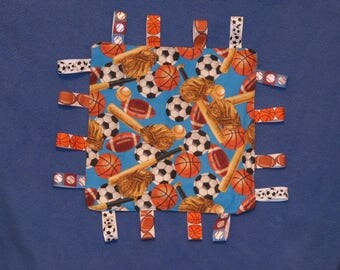 Sports Crinkle Toy