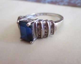 Weissgold ring zu verkaufen