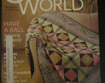 Quilter's World February 2009
