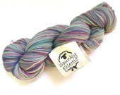 40% Off Hand Dyed Spunky Eclectic Merino Lace Wool Yarn 880 Yards
