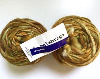 40% Off Malabrigo Aquarella Super Bulky Merino Wool Hand Dyed Hand Spun 100 grams 65 yards