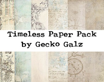 Timeless Mini Paper Pack
