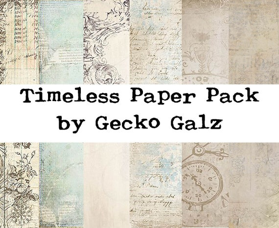 Timeless Mini Paper Pack