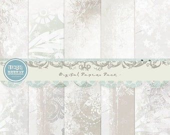 ON SALE NOW Digital Papers ( Digital Scrapbooking ) vol.3 - Instant Download