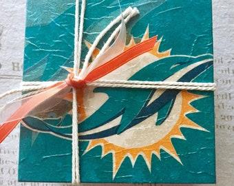 Miami Dolphins Coasters