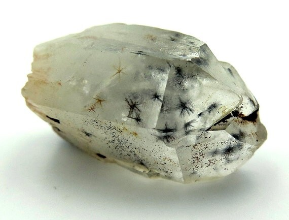 40.5 Carat Hollandite star included point. Nice heavy star inclusions. Old time Madagascar