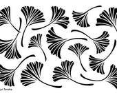 Designs by Ryn - Stencil - Ginkgo S-5