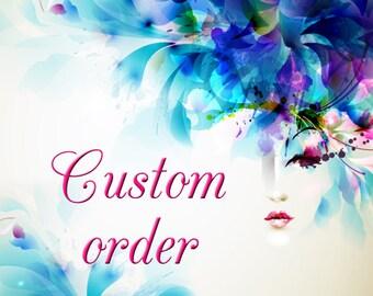 Custom order for DeShanda Carter - White crochet bolero jacket with long sleeves