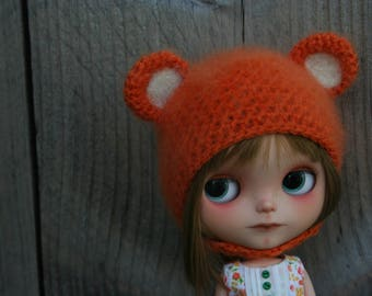 SALE ..Blythe hat with ears...14.95 now 12.00 euro