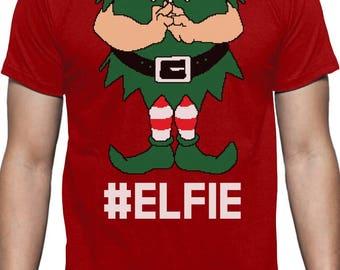 Elf Suit Funny Elfie Christmas T-Shirt