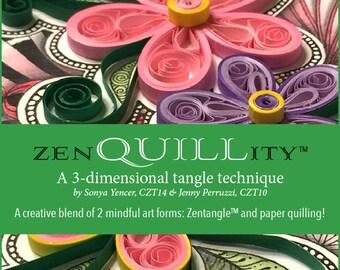 zenQUILLity™ 2   Intermediate Quilling Kit