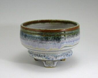 Matcha Tea Bowl, Serving Bowl, Sedona Moon, Iron Glaze, hand-thrown stoneware bowl (27)