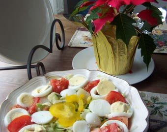 Quick Nicoise vegetable salad and a Salad soup - Recipes