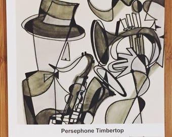 PERSEPHONE TIMBERTOP 6 x 6 softcover book