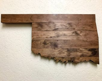 Small Wooden Oklahoma
