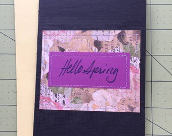 Hello Spring - Greeting Card