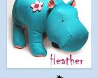 Funky Friends Factory- Heather Hippo Pattern