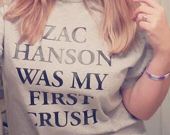 Zac/Taylor/Isaac Hanson was my first crush