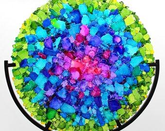Nebula Fused Tempered Glass Disk