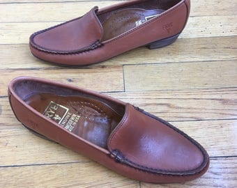 1980s Frye Loafers, Size 7.5 N