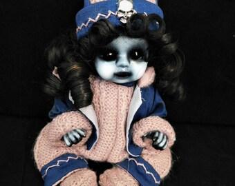 "Ursula  9"" Porcelain Horror Doll"