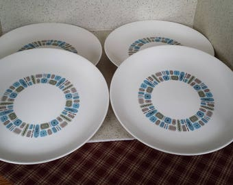 Temporama Dinner Plates - Set of 4