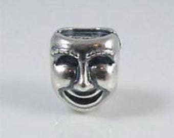 """Authentic Pandora Sterling Silver """"the worlds a stage"""" Charm"""