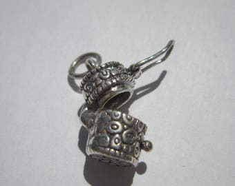 Pendant 925 sterling silver Open box (69)