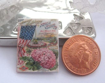 dollhouse seed annual 12th scale miniature vintage dollhouse garden greenhouse