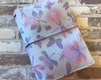 B6 Size Fabric Fauxdori -READY TO SHIP - Fabric Travelers Notebook