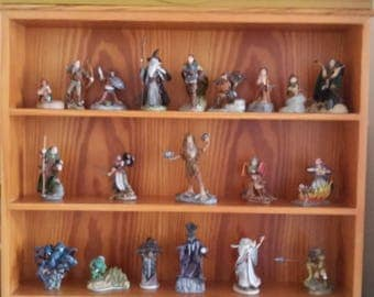 Danbury Mint Lord of the rings figures x 20 tolkien vintage and rare collectable