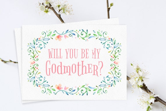 Will you be my godmother card godmother printables godmother card il570xn m4hsunfo