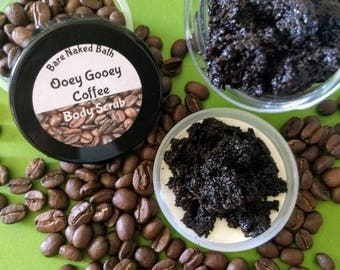 Ooey Gooey Coffee Scrub