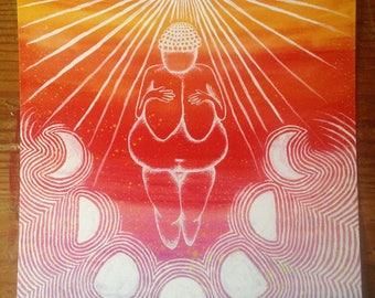 Venus Rising Art Print