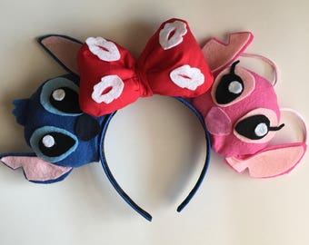 Lilo and Stitch inspired Mouse Ears