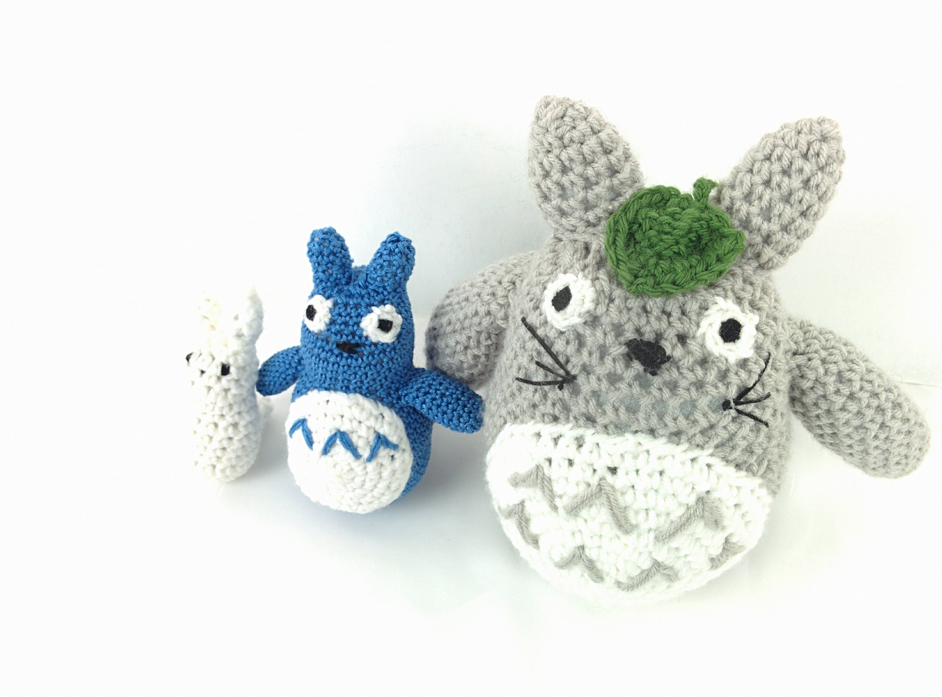Crochet pattern crochet totoro crochet stuffed animals this is a digital file bankloansurffo Choice Image