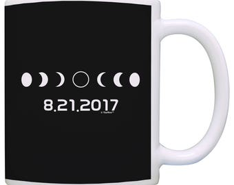 Solar Eclipse Phases Totality Event 2017 Mug - M11-3292