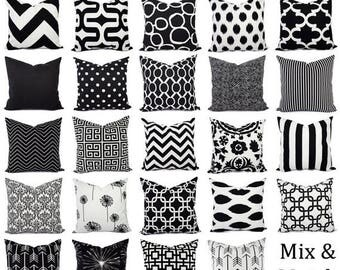 15 off sale black and white pillow covers black pillows white pillows