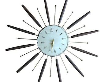 Robertshaw Lux Starburst Clock