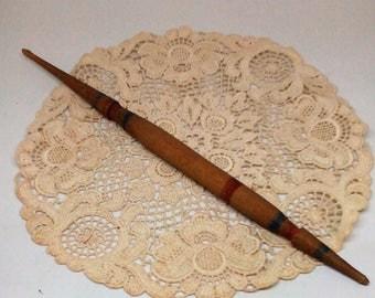 Vintage Spindles, Wooden Spindles, Vintage Wood, Yarn Spindles, Old Wooden Spindles.