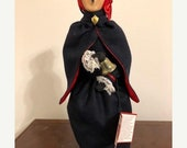 Reserved for JUDY - Vintage Collectible Byers' Choice Caroler - The Salvation Army Lady - Byers' 1992 - Byers' Carolers
