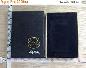 10% OFF 3 day sale Vintage Zippo Lighter Box Only Used