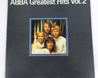 ABBA Greatest Hits Volume 2 Vinyl LP Record Atlantic SD 16009